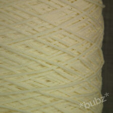 PERUVIAN PIMA COTTON YARN 4 PLY / DK 500g CONE 10 BALLS CREAM DK DOUBLE KNITTING