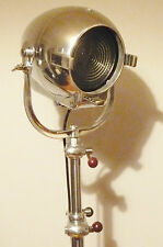 VINTAGE CINEMA MOVIE LIGHT Antiquariato Art Deco Argento Alessi Lampada Eames TEATRO
