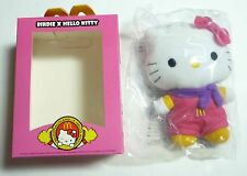 "HELLO KITTY MCDonaldland X BIRDIE 6"" Plush Toy McDonalds Malaysia MINT 2013"