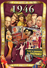 1946 Flickback DVD Greeting Card: 70th Birthday Gift or 70th Anniversary Gift