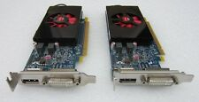 LOT OF 2x DELL AMD RADEON HD 7570 1GB GDDR5 PCI-E LOW PROFILE BRACKET KFWWP