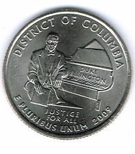 2009-D Brilliant Uncirculated District Of Columbia Quarter Coin!