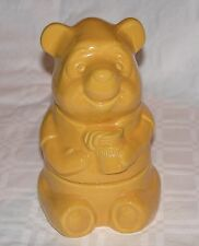 "Vintage walt Disney Authentic 'Winnie the Poo' 7"" x 5"" Jar, Container"