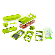 NEW Food Slicer Dicer Nicer Vegetable Fruit Peeler Chopper Cutter Container