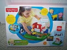 *Fisher Price Little People Activity Apptivity Barnyard