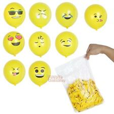 100pcs Emoji Smiley Air Balloon Wedding Decoration Birthday Party Latex Balloon