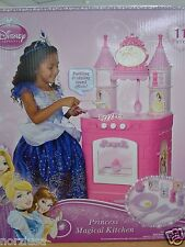 PRINCESS MAGICAL PLAY KITCHEN DISNEY SOUND EFFECT 11 ACCESSORIES GIRLS 3+