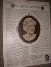 Article actress Gladys Cooper 1948 rf K