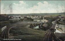 Scranton PA Laurel Line Power House c1910 Postcard