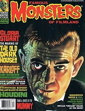 Famous Monsters #214 Old Dark House Houdini Gloria Stewart  Mummy 1996