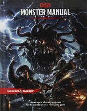 DUNGEONS & DRAGONS MONSTER MANUAL BOOK 5TH EDITION ROLE PLAYING GAME RPG