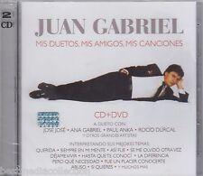 Juan Gabriel CD / DVD Mis Duetos, Mis Amigos, Mis Canciones NOW SHIPPING !