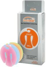 SOCKSTAR SOCKENKLAMMERN SOCKENCLIPS Frosted Colours 20er-Pack je 5 in 4 Farben