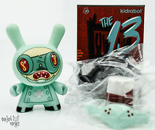 "Dr Noxious #12 - Kidrobot The 13 Dunny Series by Brandt Peters 3"" Figure New"