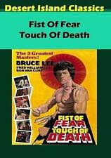 Fist of Fear Touch of Death  DVD NEW