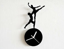 Ice Dancing Olympic Silhouette - Wall Clock