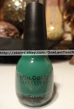 SINFUL COLORS Professional #960 ENVY Nail Polish/Enamel FOREST GREEN