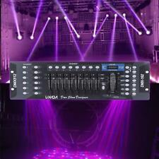 LIXADA 192CH DMX-512 Stage Light Controller Party DJ Operator Equipment EU D7I6