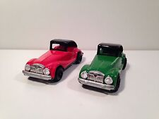 Vintage MG TF Tin Models (2 Cars) - Made In Japan - Brand New Condition