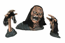 ZOMBIE GROUND BREAKER GARDEN ROOM DECORATION HALLOWEEN PARTY PROP 3PC