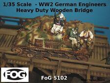 1/35 Scale  - WW2 German Engineers Heavy Duty Wooden Bridge
