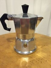 Small Espresso Pot 1 Cup Mini Vev Vigano Aluminum No Inside Parts