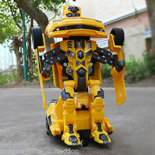 UNIQUE- REMOTE CONTROLLED ROBOT - BECOME CAR & ROBOT-   BUMBLEBEE TRANSFORMER