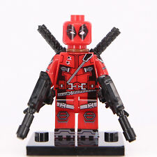Deadpool Mini Figure Super Hero Dc Comics Marvel Fits Lego Minifigs Toy