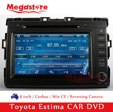 "8"" Car DVD Player Stereo GPS Nav Radio For Toyota Estima 2006-2014"