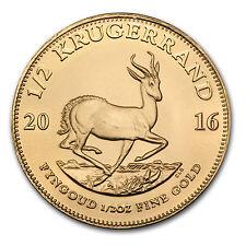 2016 South Africa 1/2 oz Gold Krugerrand - SKU #96785