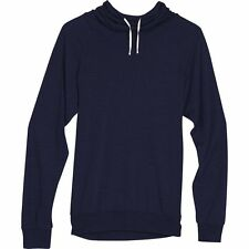 Icebreaker Women Sphere LS Hood Hoody (M) Admiral Heather / Snow