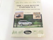 THE LAND ROVER EXPERIENCE Range Rover Defender 90 / 110 / 130 * Discovery pickup