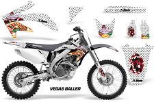 Honda Graphic Kit AMR Racing Bike Decal CRF 450R Decal MX Parts 05-08 VEGAS BLLR