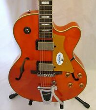 Cort Yorktown BV-TO Hollowbody with Bigsby Trans Orange Unplayed New Old Stock