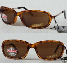 Women Sunglasses by Foster Grant model Impression tortoise brown with bag