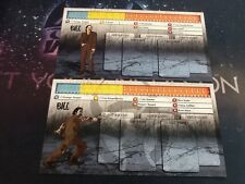 Zombicide Bill Character Dashboard (Card only) promo English