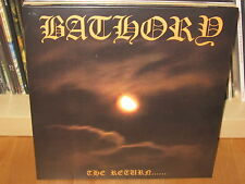 BATHORY - The Return..... - LP 1985 - HELLHAMMER, CELTIC FROST, VENOM, MAYHEM !!