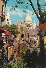 PARIS montmartre place du tertre église st-pierre sacré-coeur peintres