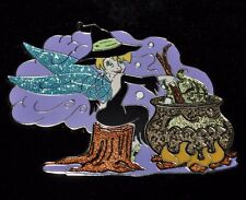 Rare Disney Jumbo Pin LE250 Tinkerbell Witch Halloween NEW on Card Trading pin