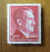 EBS Germany 1942 Adolf Hitler Hitlerkopf 3 Mark Michel No 801A MNH**