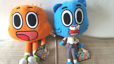 THE AMAZING WORLD OF GUMBALL PLUSH GUMBALL 15in DARWIN 14in SET 1-6 Boys & Girls