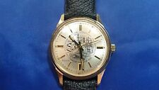 Vintage Bulova N3 Men's Watch Gold Electroplate Bezel