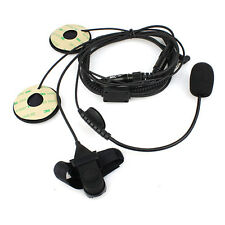 FYT 1 Pin 3.5mm Finger PTT Motorcycle Helmet Headset MIC for YAESU Vertex Radio