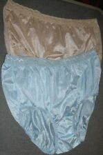 2 New Hanes Beige Blue Lace Top Hanes Brief Lot Size 8 Xl XLarge
