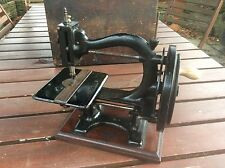 Antique Wanzer Time Utiliser Sewing Machine