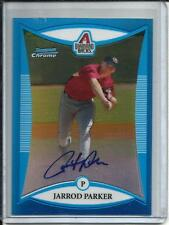 Jarrod Parker 2008 Bowman Chrome Blue Refractor Autograph #146/150