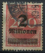 Germany SG#302a 2m On 200m Rose-Red Used #A85112
