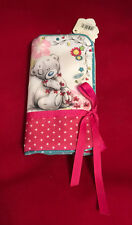 ME TO YOU BEAR TATTY TEDDY SKETCHBOOK ZIP STORAGE BAG CASE ROLL FOLD BAGS GIFT