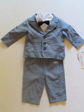NWT Koala Baby 3 Pc Dres Up Suit Tuxedo Baby Infant Boys 6 Months $49.99