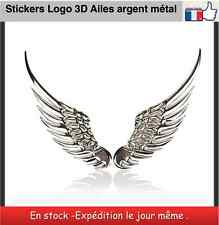 Stickers logo 3D emblem Ailes d'anges métal Car Styling wings of an angel